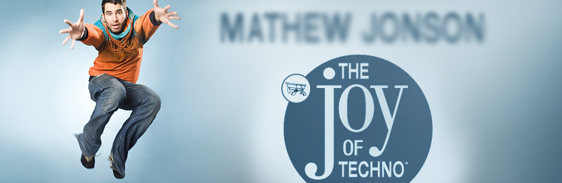 The joy of techno: Mathew Jonson