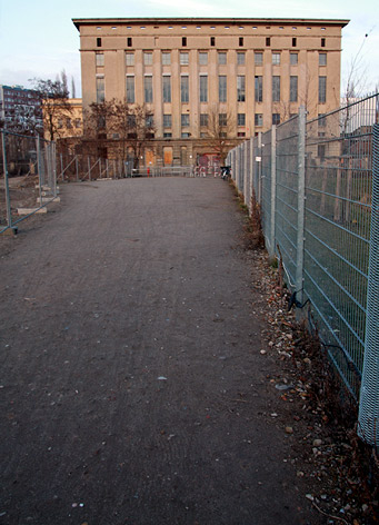 The entrance to Berghain and Panorama Bar