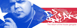 After a few years of out of the mainstream spotlight, DJ Sneak's back with a new compilation of classics, a campaign to