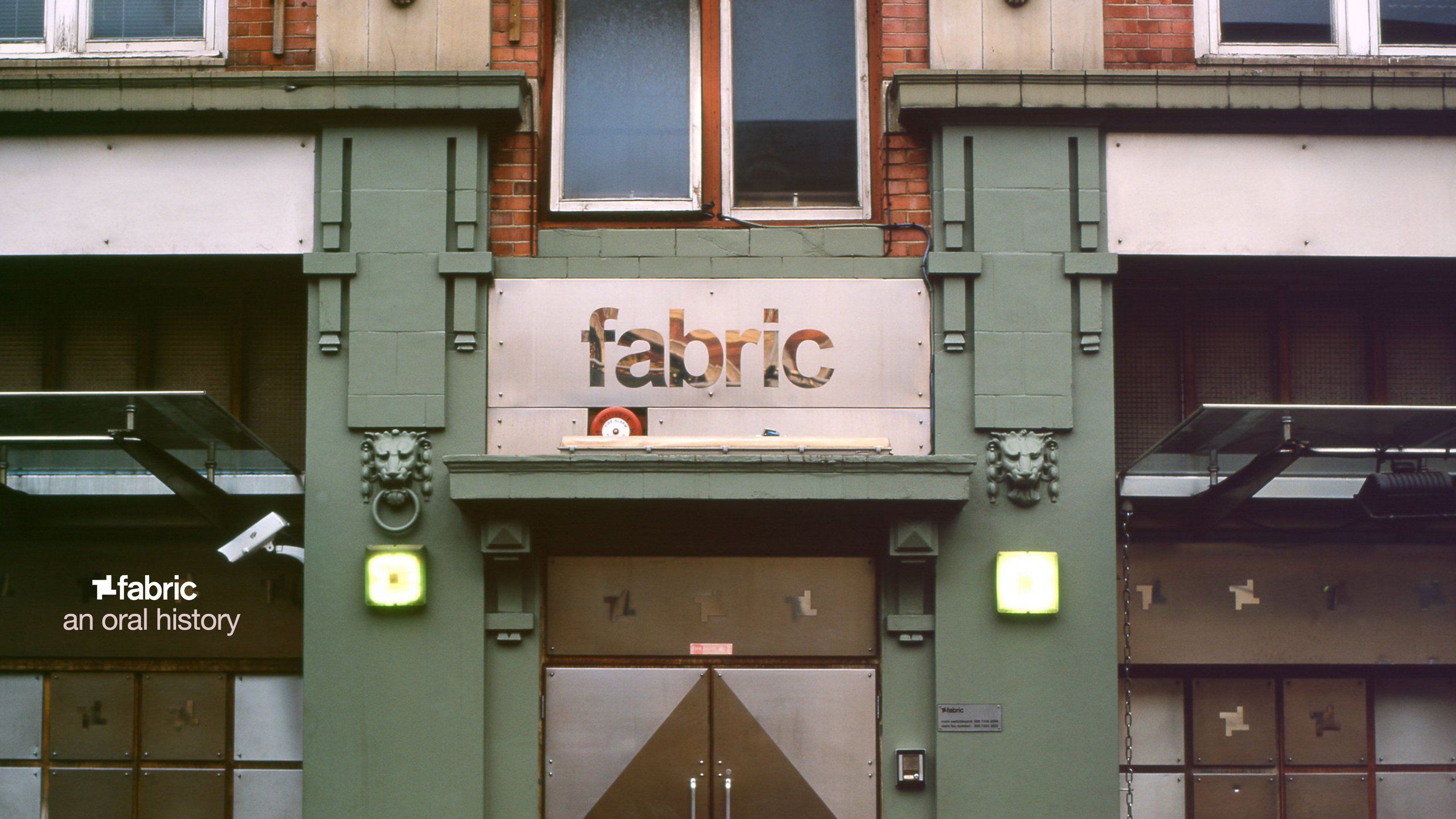 fabric: An oral history