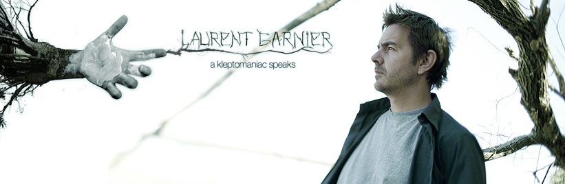 Laurent Garnier: A Kleptomaniac speaks