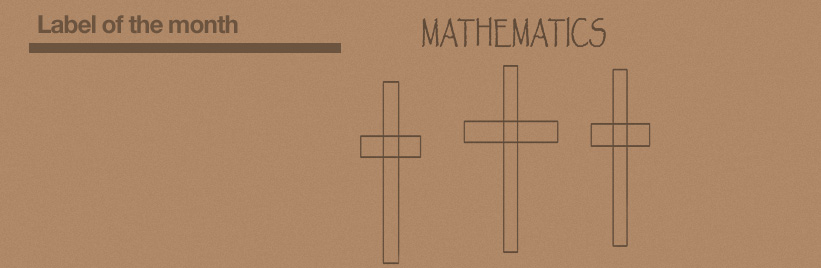 Label of the month: Mathematics
