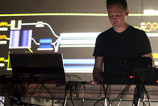 Carsten Nicolai in the Hall
