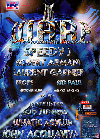 time warp 1994 flyer