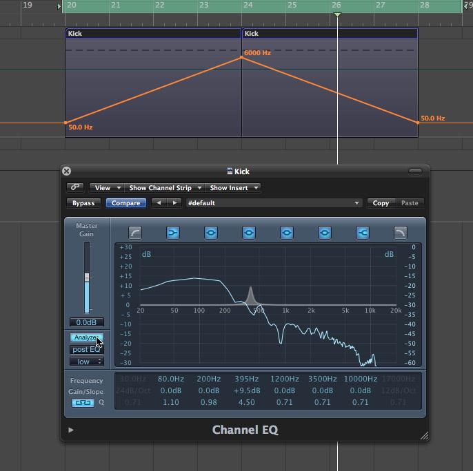 RA: Low end theory: EQing kicks and bass
