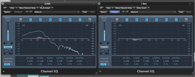 Kick and Bass EQ