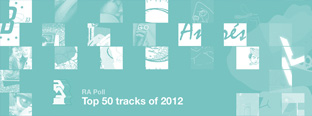 RA Poll: Top 50 tracks of 2012
