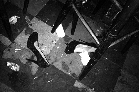 Shoes at the Golden Pudel