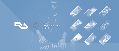 RA Poll: Top 20 live acts of 2014