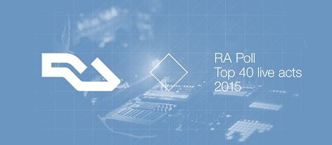 RA Poll: Top 40 live acts of 2015