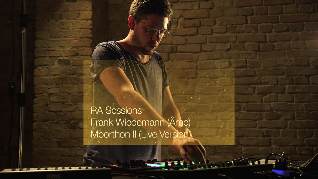 RA Sessions: Frank Wiedemann (Âme)