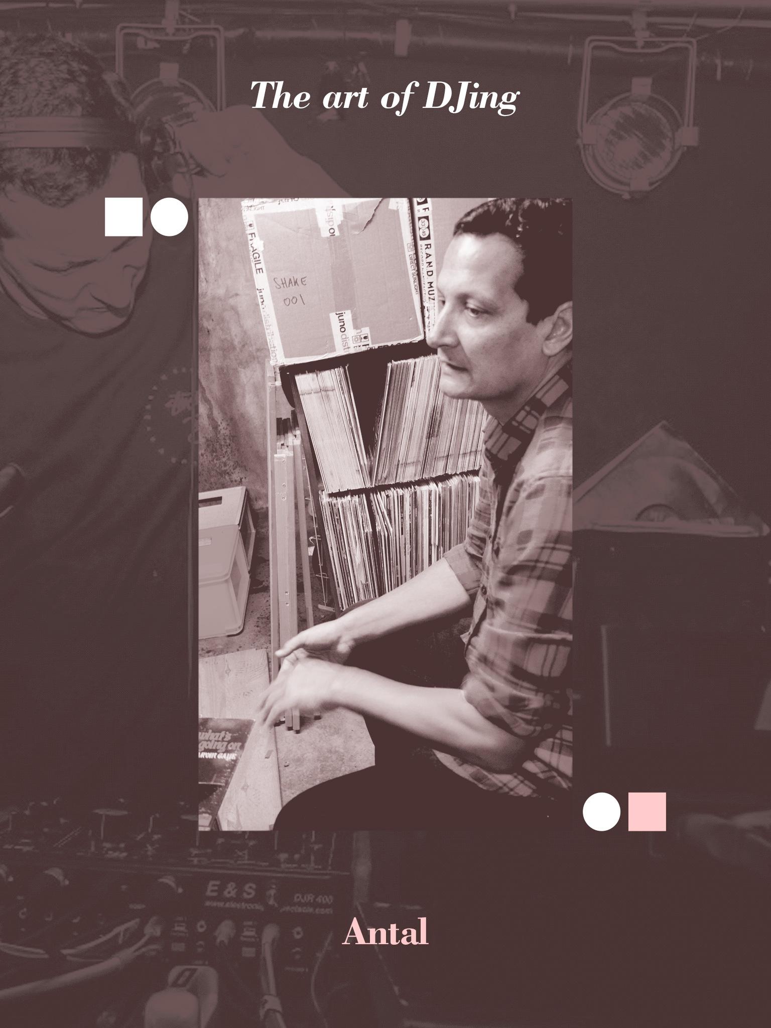 The art of DJing: Antal