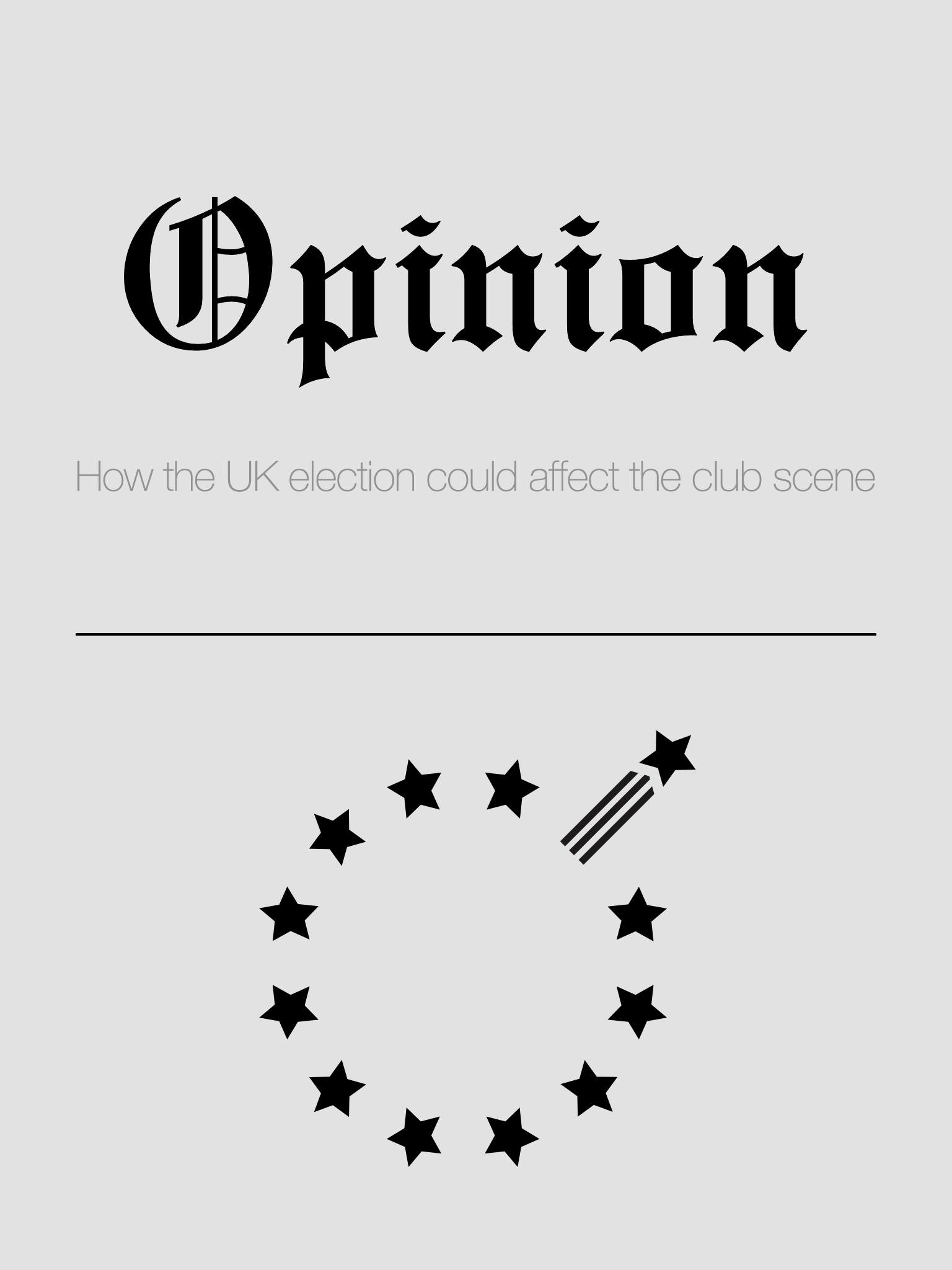 Opinion: How the UK election could affect the club scene