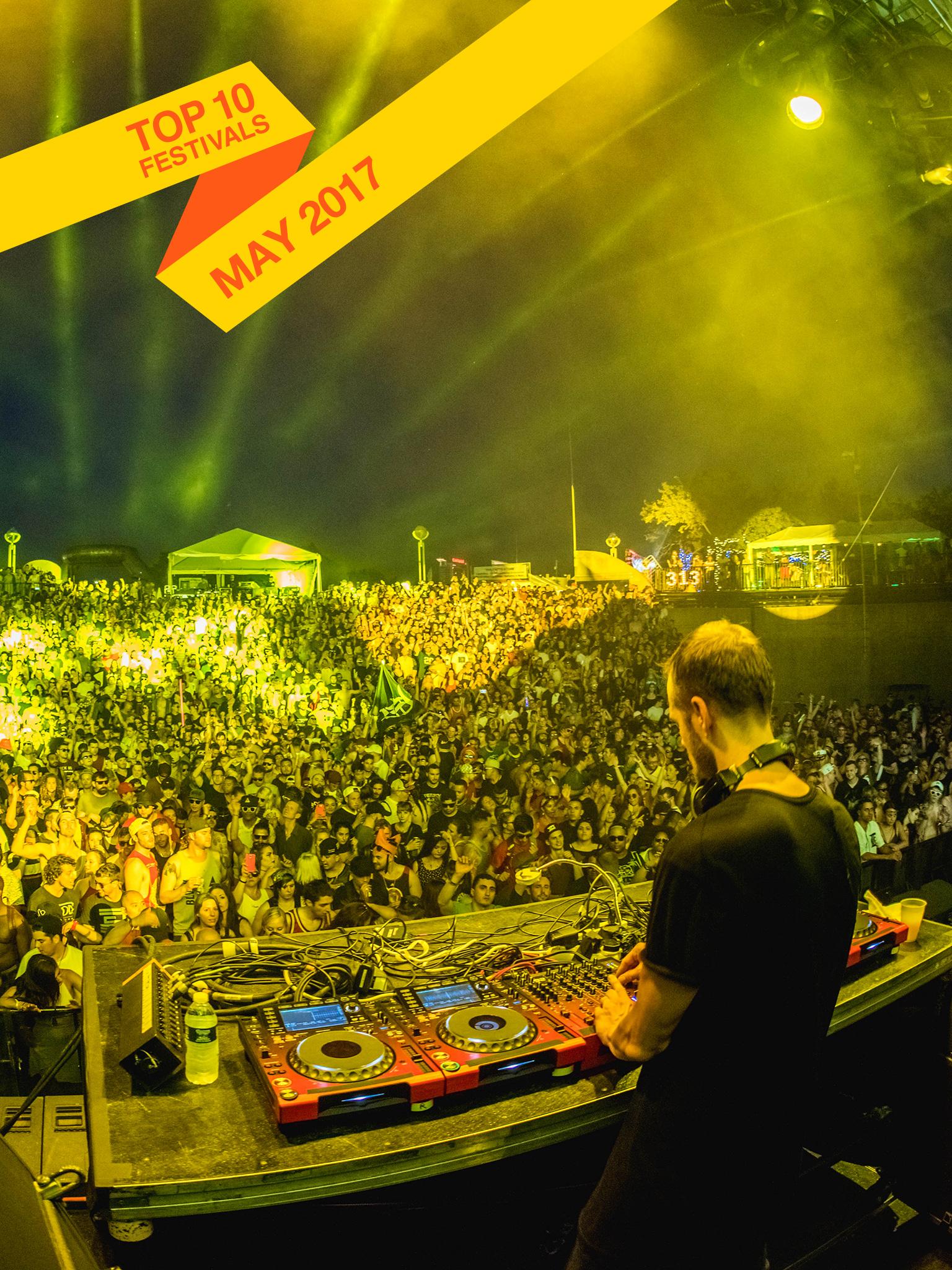 Top 10 May 2017 Festivals