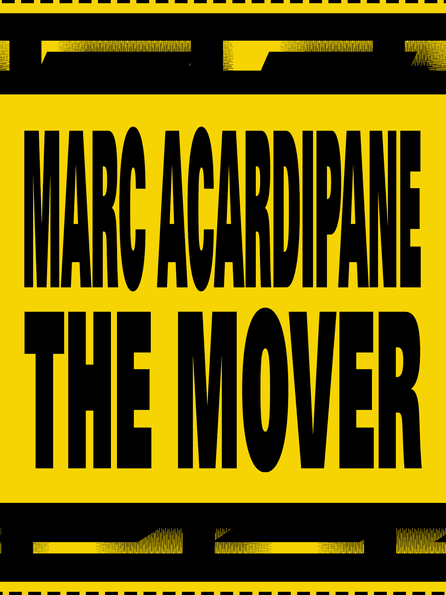 RA: Marc Acardipane: The Mover