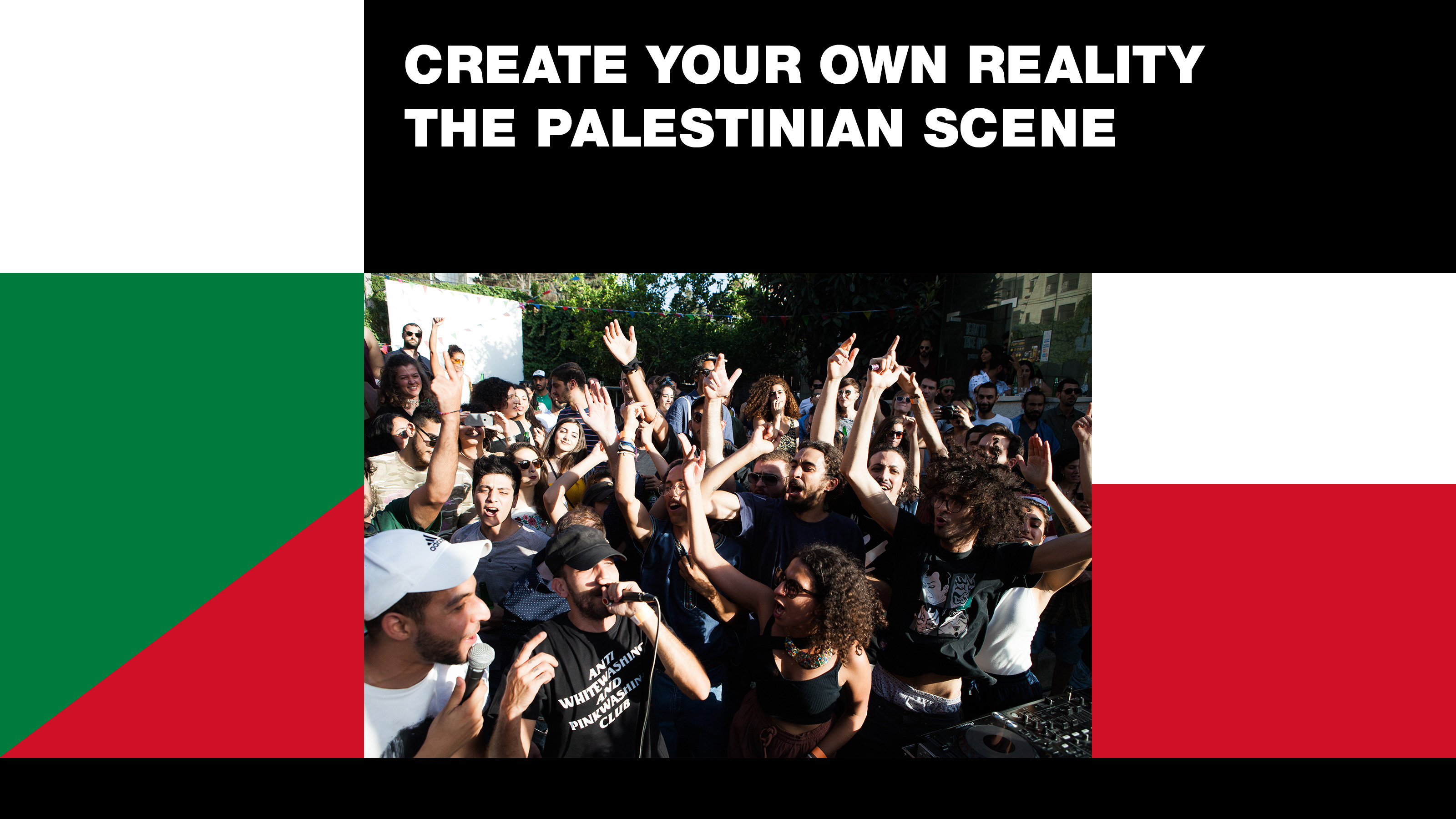 Ra Create Your Own Reality The Palestinian Scene
