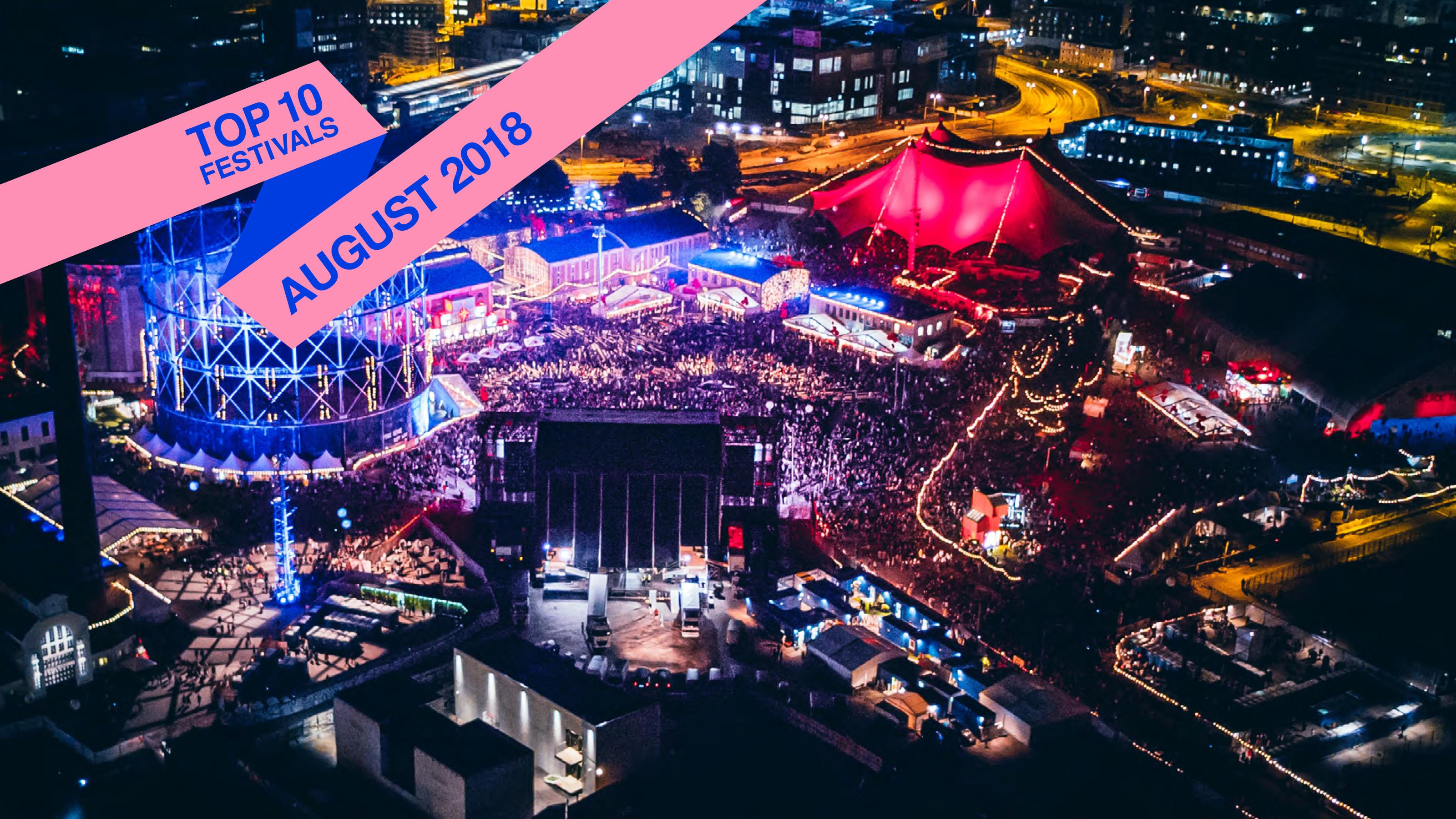 Top 10 August Festivals