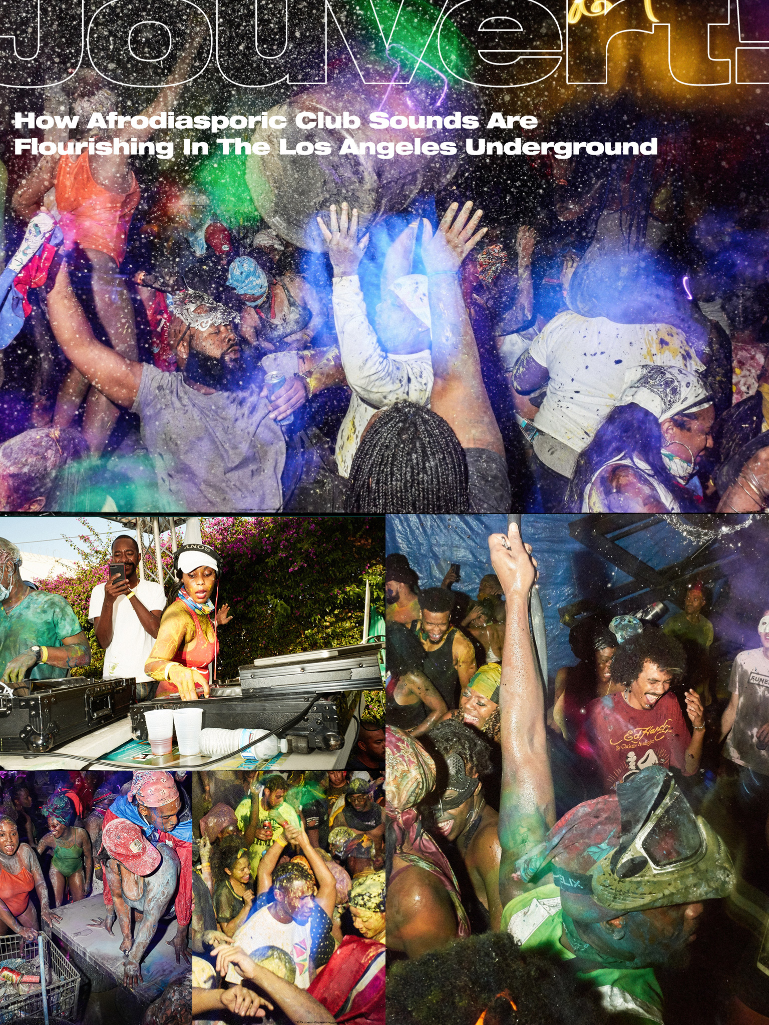 Jouvert! How Afrodiasporic Club Sounds Are Flourishing In The Los Angeles Underground