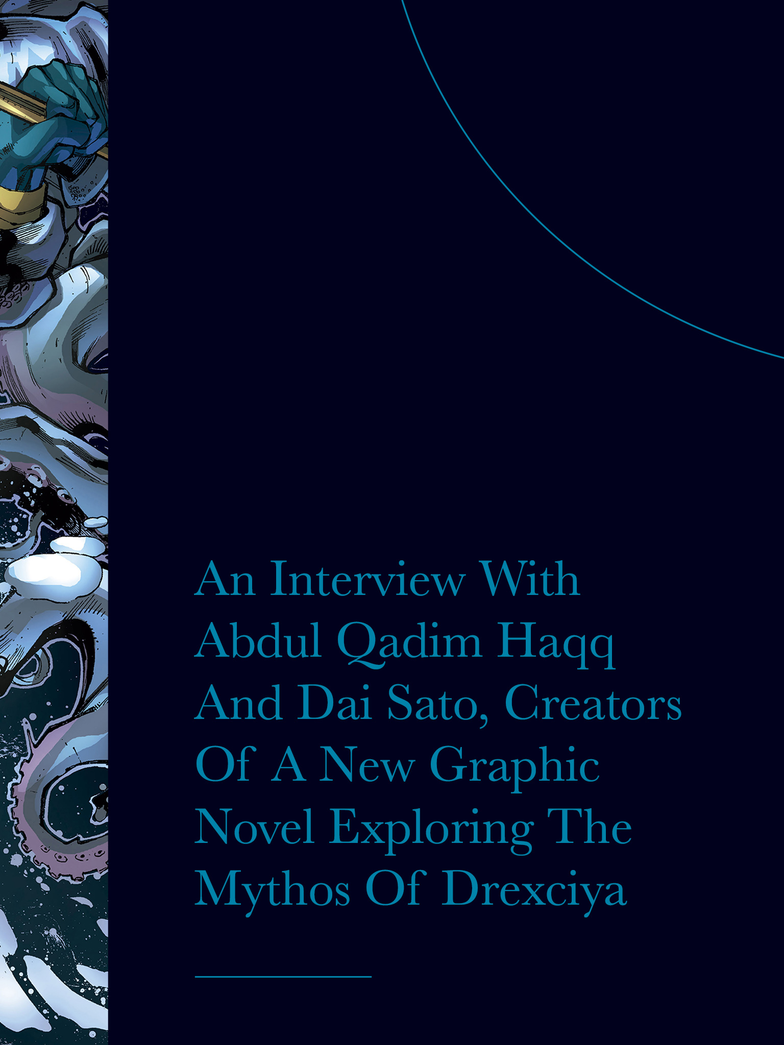 An Interview With Abdul Qadim Haqq And Dai Sato, Creators Of A New Graphic Novel Exploring The Mythos Of Drexciya