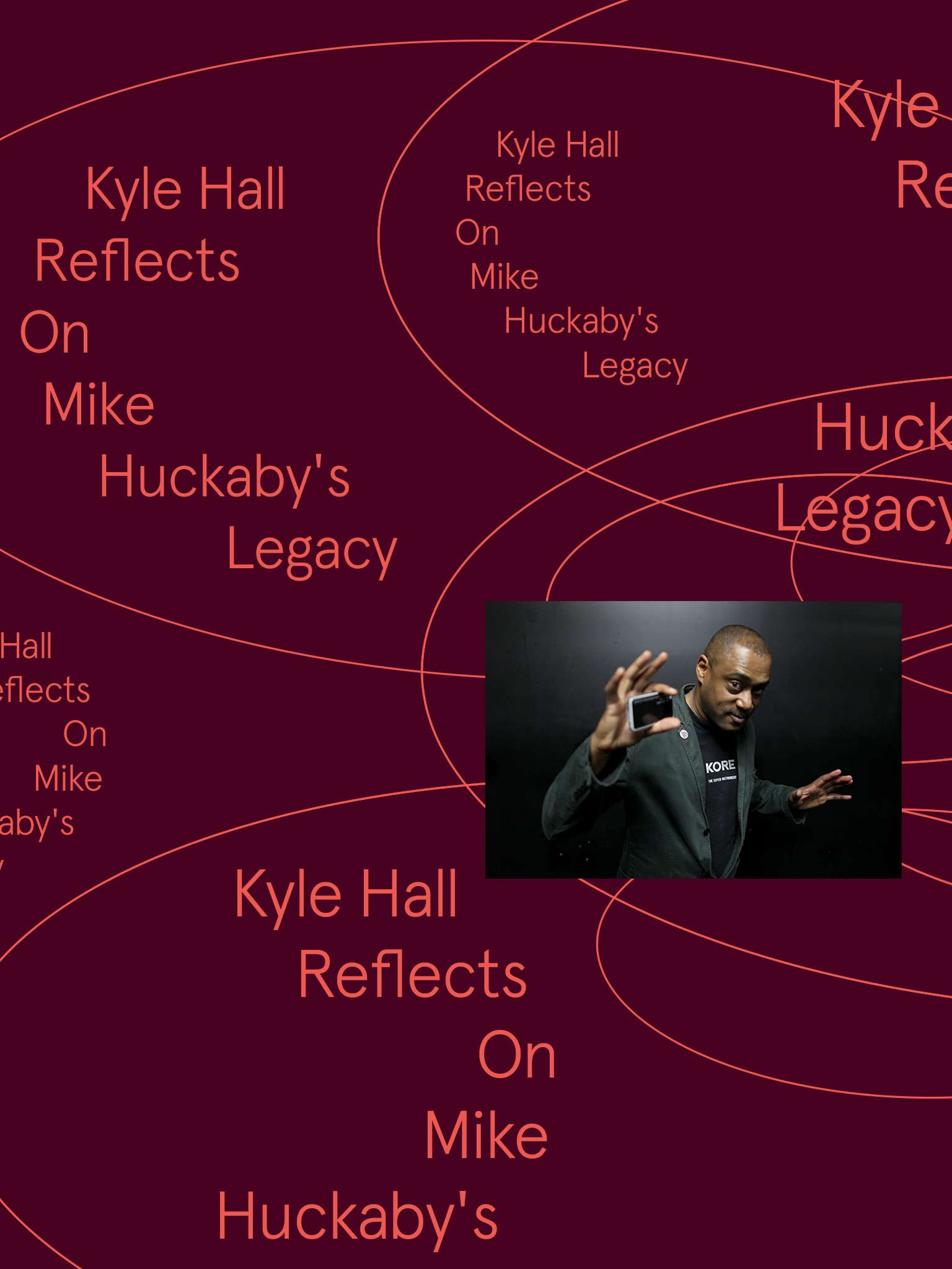 Kyle Hall Reflects On Mike Huckaby's Legacy