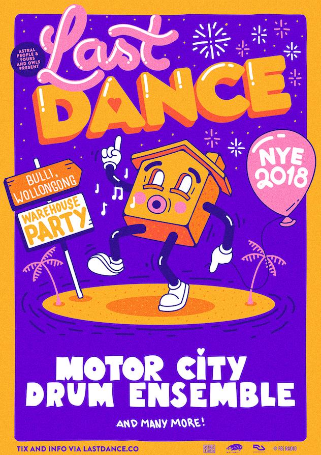 Motor City Drum Ensemble to headline NSW NYE party, Last Dance