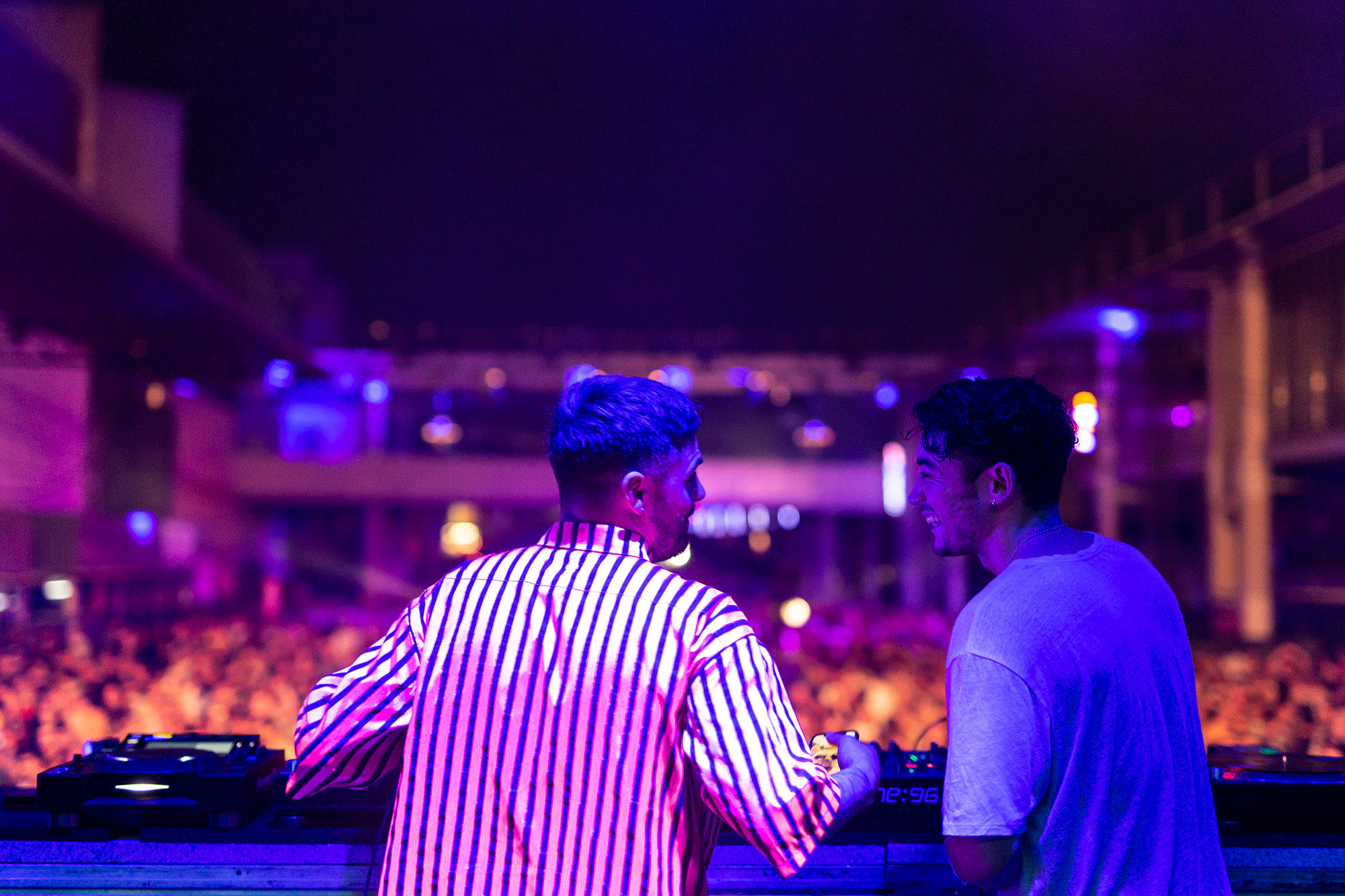 Listen to Blawan and Dax J back-to-back at Sónar