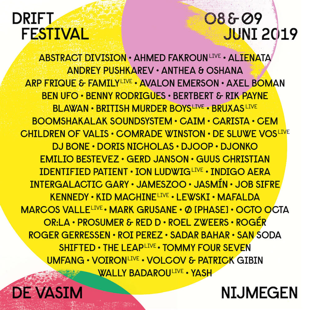 Drift Festival adds one day for 2019 edition with Octo Octa, Blawan