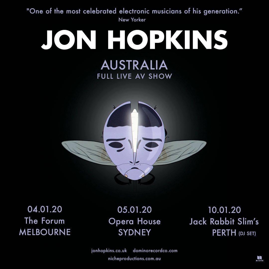 Jon Hopkins lines up three Australian headline shows in January