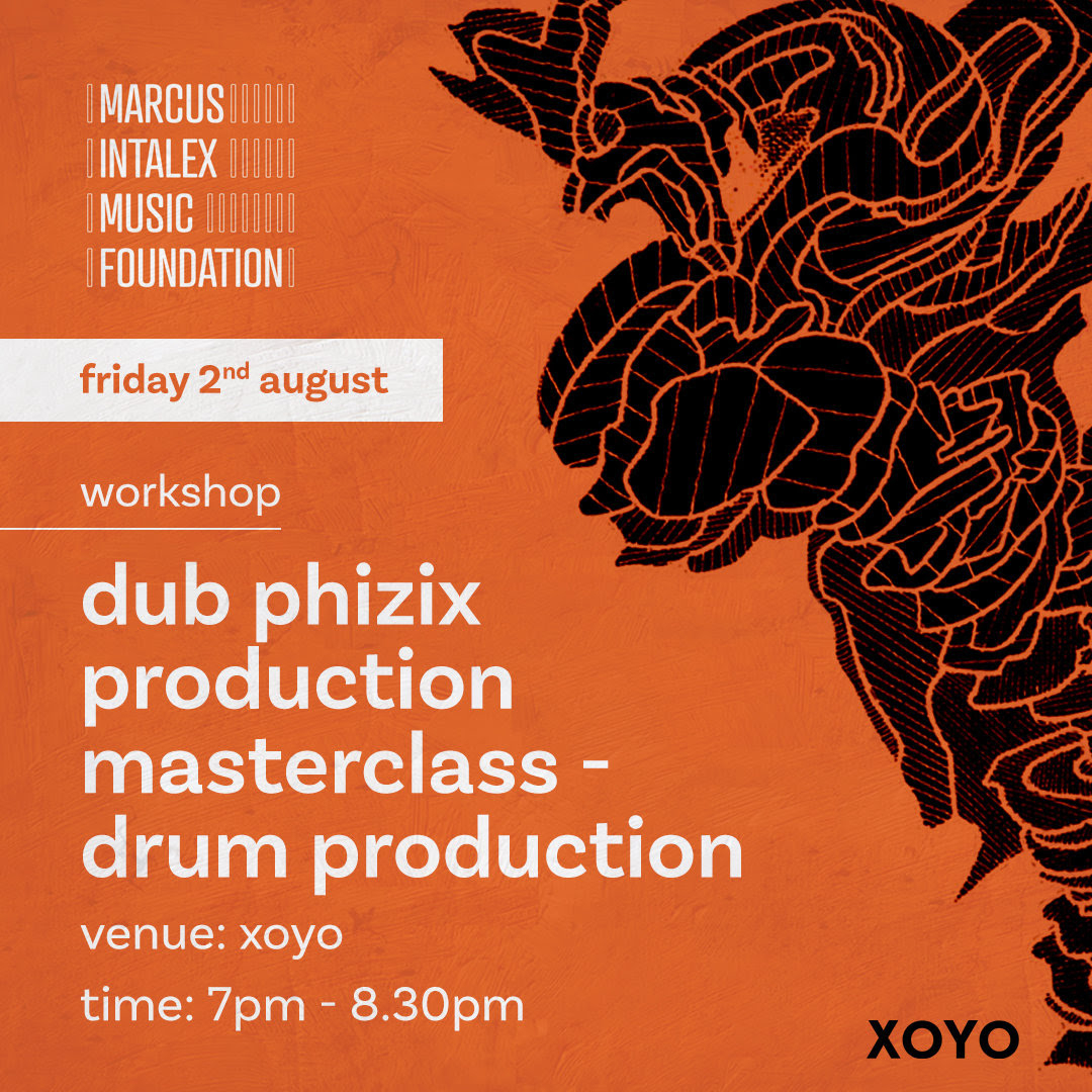 Marcus Intalex Music Foundation to host music production workshop at London's XOYO