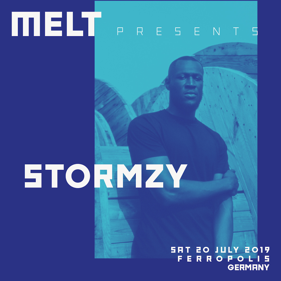 Stormzy replaces A$AP Rocky at Melt Festival 2019