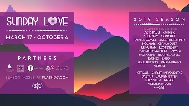 RA: Flash announces names for 2019 Sunday Love series - Feed