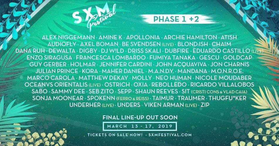 Caribbean festival SXM adds Ricardo Villalobos, Dana Ruh and more