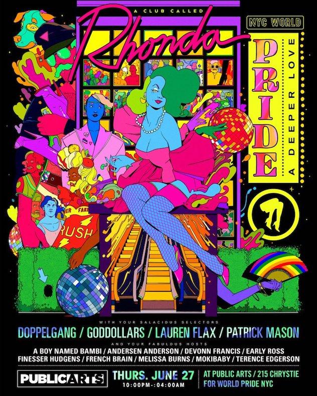 RA: A Club Called Rhonda heads to New York City for Pride tomorrow