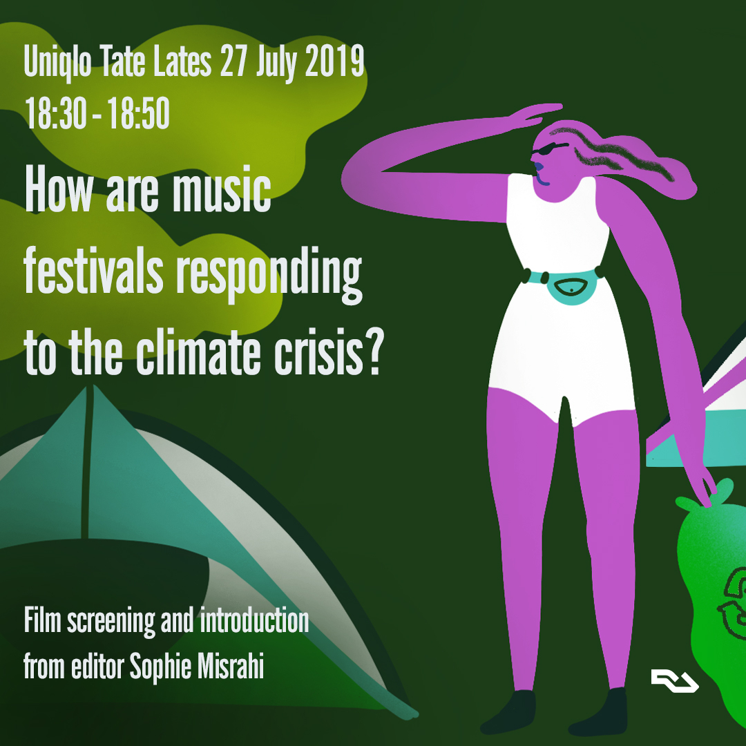 Tate Modern to screen RA's film on music festivals and the climate crisis