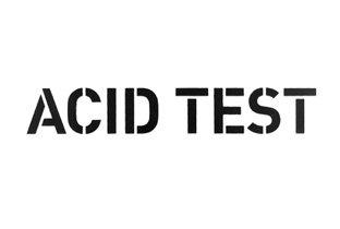 Ra acid test record label for Acid house labels
