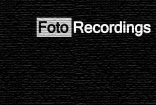 Tracks on Foto Recordings
