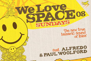 Alfredo and Paul Woolford love Space
