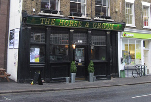 Go for free at The Horse & Groom