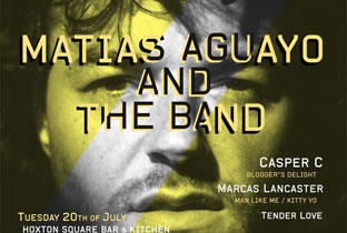 Matias Aguayo brings his band to London