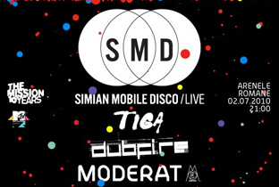 Simian Mobile Disco headline Arenele Romane