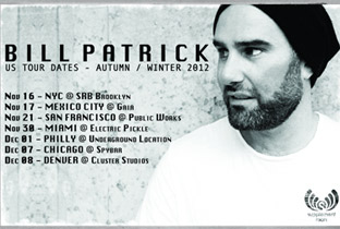 Bill Patrick plots North American tour