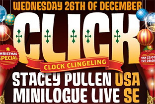 Stacey Pullen billed for Click-Clock Clingeling Christmas Special