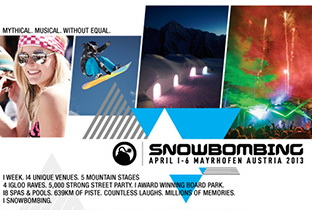Seth Troxler billed for Snowbombing 2013