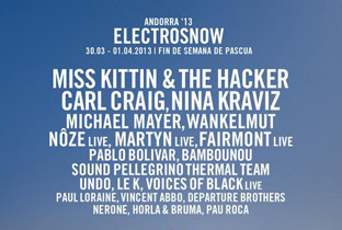 Carl Craig billed for ElectroSnow 2013