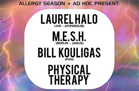 RA News: Laurel Halo and Bill Kouligas play NYC