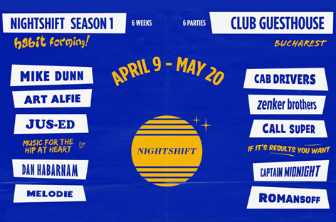 Nightshift Takes Over Club Guesthouse For April And May