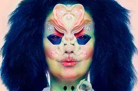 Bjork's Shares Predictably Iconic Cover Art For Her New Album