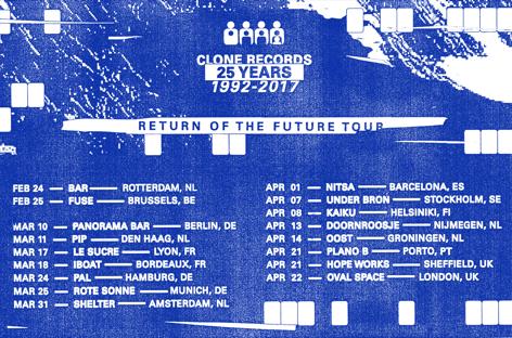 Clone Records Europese tour