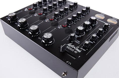 RA News: MasterSounds introduces new flagship rotary DJ mixer