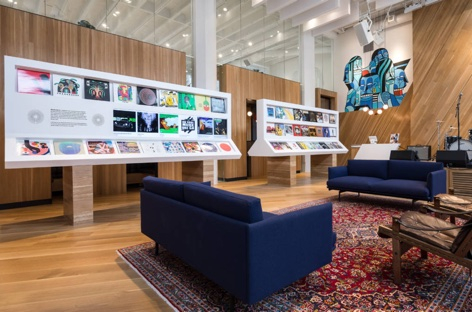 Bandcamp opens record store and headquarters in Oakland image